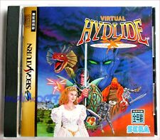 SEGA SATURN GAME COMPLETE ADULT OWNED - VIRTUAL HYDLIDE - JAPANESE VERSION