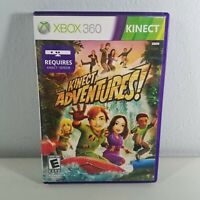 Kinect Adventures Xbox 360 Video Game With Manual Complete Tested