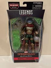 Custom Marvel Legends MCU Mysterio Spider-man Far From Home Molten Man Cape Rare