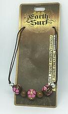 Beaded Necklace Surfer Beach Holidays Gift Hippy Boho Vegan Friendly Gift J197