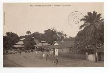 AFRIQUE FRANCAISE colonie française GUINEE FRANCAISE CONAKRY le marché KONAKRY
