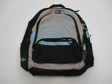 ROXY Women's Surfing Travel Carry On School Black/Gray Backpack #CA63