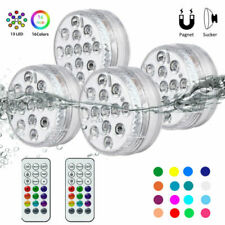 Submersible Led Pool Light With Remote Control Underwater Suction Cups 16 Colors
