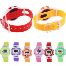 Fashion Kids Boys Girls Watch Students Time Electronic Digital Sport Wrist Watch