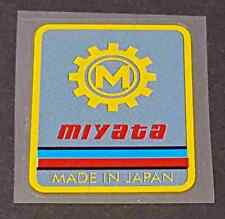 Miyata Head Badge Decal - Multi-Color (sku Miya712)