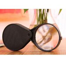Adjustable Pocket Lens 60mm Jewelry 10x Magnifier Loupe Magnification Eye Glass