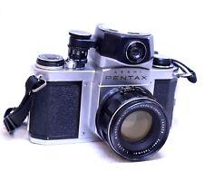 ASAHI PENTAX S1A Camera With SUPER-TAKUMAR 55mm f/2 M42 Len  - G23