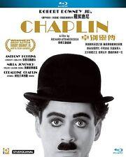 "Ricahrd Attenborough ""Chaplin"" Robert Downey Anthony Hopkins Region A Blu-Ray"