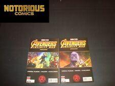 Marvel's Infinity War Prelude 1-2 Complete Comic Lot Run Set 1st Print