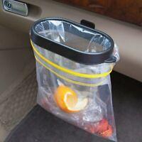 Foldable Plastic Car Trash Can Frame Bucket for Garbage Trash Bin Waste Rubbish