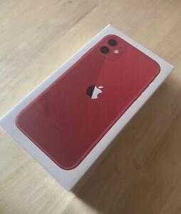 Apple iPhone 11 - 64GB -red  (Unlocked) 1 Year Apple Warranty BRAND NEW