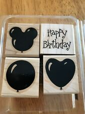 Stampin Up 2001 Birthday Baloons 4 stamps