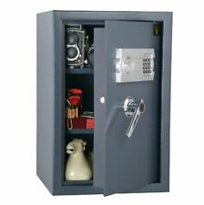 Digital Security Safe Electronic Lock Box Home Office Gun Hidden Heavy Duty Cash