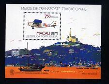 Macau Block 11 Luftfahrt postfrisch