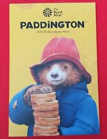 Full Set 2018 Paddington Bear 50p Coins In Royal Mint Album
