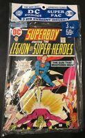 1973 DC Comics 3 PAC D-10 Tarzan 225 Legion Of Super-Heroes 199 Flash 224