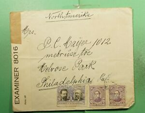 DR WHO PARAGUAY TO USA WWII CENSORED  g23505