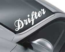 Drifter Windscreen Sticker Drift Car Slammed Lowered Dub VW Decal m17