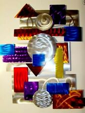 Large ULTRA MODERN ART Metal Wall Art Abstract Sculpture  ORIGINAL ART Jon Allen