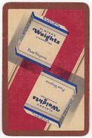 Playing Cards 1 Single Card Old PLAYERS WEIGHTS Cigarettes Advertising Tobacco 4