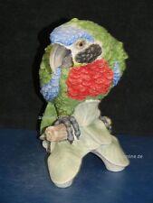 +*A010559_01 Goebel Archiv Muster Papagei Ara bunt ca.23cm CV79 TMK5 Plombe