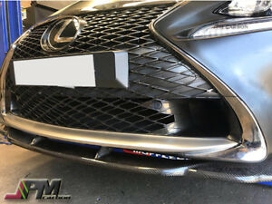 For 15-17 LEXUS RC200t RC350 with F-Sport Only AG Style Carbon Fiber Front Lip