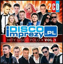DiscoImprezy.pl. Volume 1(2 CD)  2016 DISCO POLO CD POLISH POLSKIE