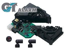 Alarma coche GETRONIC GT-909, auto-alimentada, con esquema de montaje de su cohe