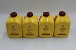 FOREVER LIVING Forever Aloe Vera Drinking Gel Nutritional Drink 1L X4 BNIB
