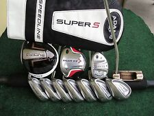 Callaway Adams Irons Driver Wood Hybrid Ping Complete Golf Club Set Mens RH Set