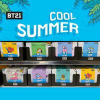 BTS BT21 Official Authentic Goods Ripple Blanket 157 x 185cm By Narahome Deco