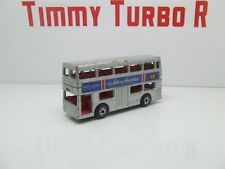 MATCHBOX THE LONDONER 1972 NO 17 SILVER JUBILEE BUS 77 MM LONG R