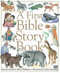 A First Bible Story Book Children Hardback Illustrated Gift Religion NEW