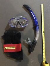 U.S. Divers Mask and Snorkel Set for Adults (One Size Fits Most) With Gear Bag