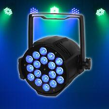 LEDJ esecutore QUAD MKII par 64 NERO 18 x 8W RGBW LED Fase Teatro Illuminazione
