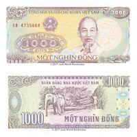 Vietnam 1000 Dong 1988 P-106a Banknotes UNC