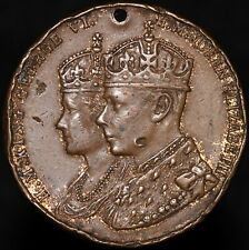 More details for 1937 | george vi & elizabeth coronation medal 'fattorini' | medals | km coins