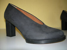 & OTHER STORIES Damen Schuhe Plateau Pumps Leder Nubuk Schwarz Italy Gr.40 Neuw