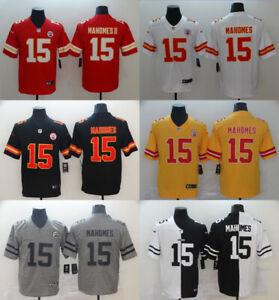 NEW HOT #15 Patrick Mahomes Kansas City Chiefs Series Stitched Genuine Jersey