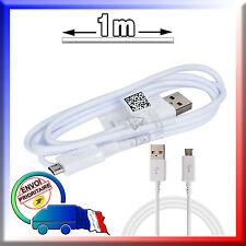 Câble USB BLANC pour SAMSUNG Galaxy J3 J300