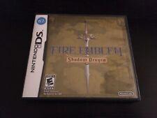 COMPLETE Fire Emblem: Shadow Dragon (Nintendo DS, 2009)