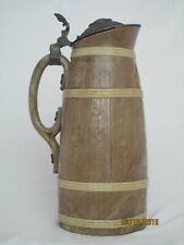 """Antique Villeroy and Boch Beer Stein 12 3/4"""" tall"""