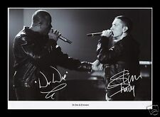 DR DRE & EMINEM AUTOGRAPHED SIGNED AND FRAMED PP PHOTO POSTER