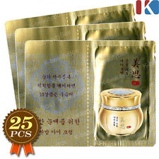 MISSHA Gold Snow Gumsul Giyun Eye Cream 25pcs / Anti-Aging Cream Lifting Cream