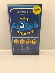 The Aqua Diary : The Official Aquarium Home Video (1998) VHS Video Tape