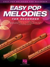 Easy Pop Melodies For Recorder 9781480384392 Paperback