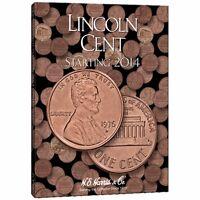 Lincoln Cents Coin Folder Album #4, 2014 by H.E. Harris