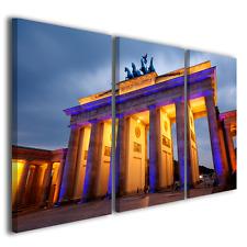 QUADRI MODERNI BRANDEBURGER BERLINO BERLIN STAMPE SU TELA PORTA DI BRANDEBURGO