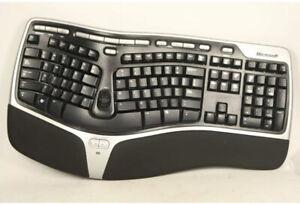 Microsoft Natural Wireless Ergonomic Keyboard 7000 WUG0619 Model 1118 No Dongle