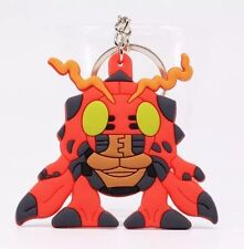 Digimon Tentomon Rubber Keychain 2.5 Inches Double Sided US Seller